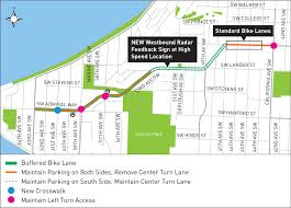 Seattle Public Transit Map by Seattle Department Of Transportation Sw Admiral Way Safety Project