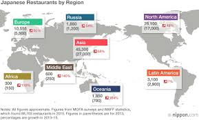 most popular cuisines japanese restaurants on the rise abroad nippon com