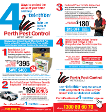 job quotes perth supporting charitable institutions perth pest control