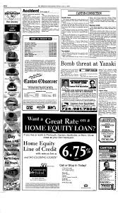 Canton Obaerue Your hometown newspaper serving Canton for 26 years