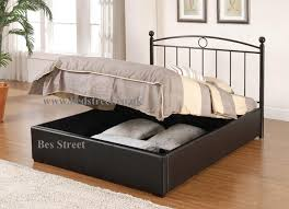 Ottoman Faux Leather Bed Uncategorized Ottoman Storage Bed Designs Within Beautiful Top