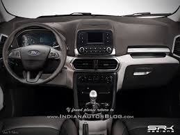 ford ranger 2017 interior 8 things we know about the 2017 ford ecosport facelift