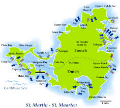 map of st martin sint maarten map travel map vacations travelsfinders com