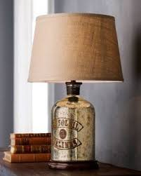 stylish ideas gold mercury glass lamp impressive double gourd 30 1