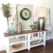 rustic x console table gorgeous build plan for console http www ana white com 2012 05
