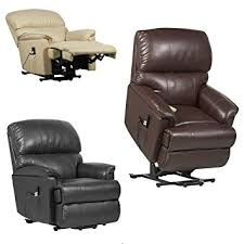 Riser Recliner Chairs Canterbury Dual Motor Leather Electric Riser Recliner Chair With