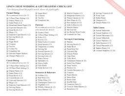 bridal shower registry ideas wedding registry checklist useful guide bridal shower list there