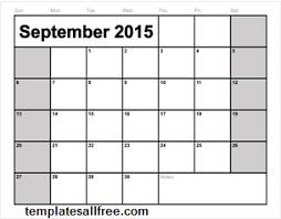 september calendar templates weekly calendar template