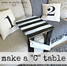 sofa c table down to earth style make a sofa