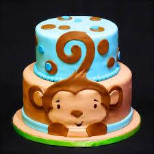 monkey baby shower cake baby shower cakes with monkeys party xyz