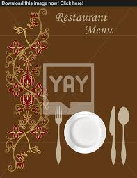 Designs Of Menu Card Menu Card Design Vector Yayimages Com