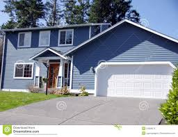 two story house stock images image 24266974