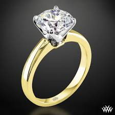 ring settings without stones a broadway introducing the broadway solitaire engagement