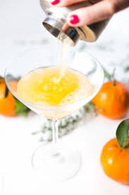 orange martini recipe tangerine and thyme martini u2014 tastes lovely