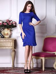 royal blue prom dresses with sleeves royal blue bodycon dress