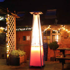 Patio Heater Pyramid by Athena Plus 13kw Led Gas Patio Heater Free Weather Cover