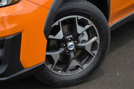 subaru factory wheels 2018 subaru crosstrek review autoguide com news