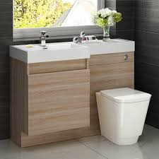 Bathroom Vanity Units With Basin by Vanity Unit Oak Trendy Sasha Medium Oak Vanity Unit Inc Basin