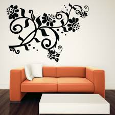 wall decals flowers uk color the walls of your house wall decals flowers uk curly flower floral wall art sticker wall decal transfers ebay