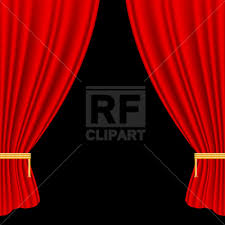 Theater Drop Curtain Drop Curtain Vector Clipart Image 1674 U2013 Rfclipart