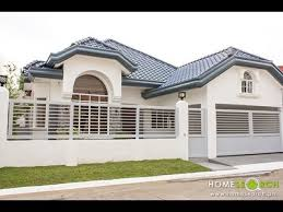bungalow house design real estate developer model unit