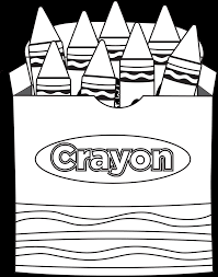 crayon coloring page coloring pages online