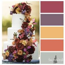 fall wedding color palette 7 rustic fall wedding palettes free state