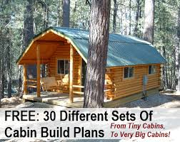 small cabin plans free awesome idea 1 free cabin plans 30 diy blueprints homepeek