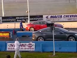 nissan leaf quarter mile tesla model s from insane to ludicrous to slice 1 4 mile times