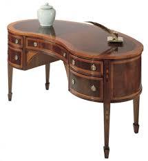 Kidney Shaped Writing Desk Antique Kidney Shaped Desk Leather Top Hostgarciad Smith Best Home