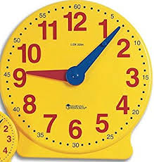 time learning clock learning resources ler2094 big time learning clocks 12