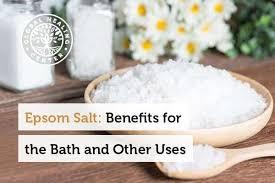 epsom salt vs table salt 10 health benefits of epsom salt wake up world