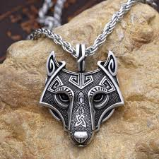 wolf necklace pendant images Viking wolf necklace good weasel jpg