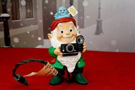 hallmark vintage christmas ornament elf holiday flash camera w
