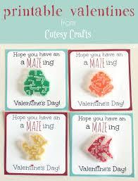 maze valentine printables cutesy crafts