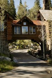 storm mountain ranch house rustic exterior denver by