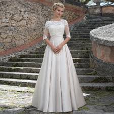 dress and jacket for wedding 2016 new arrival with detachable lace jacket wedding dress