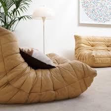 michel ducaroy leather living scape togo ligne roset
