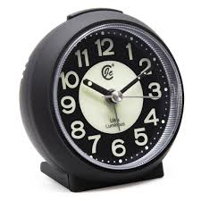 jcc charming luminous non ticking quartz alarm clock u2013 jcc online shop