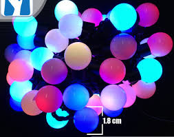 shop new arrived mini globe lights 50 multi color led