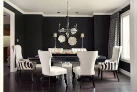 Dining Room Decor Ideas Pictures Sophisticated Black Dining Room Decor Ideas Abpho