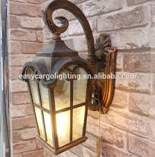 europa style outdoor garden wall lighting arabic style wall lamp