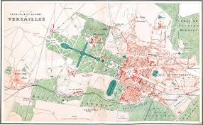Versailles France Map by The Franco American Flophouse Le Quartier De Montreuil