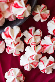 peppermint meringue cookies countryside cravings