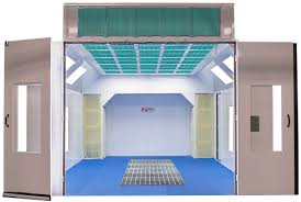 paint booths spray booths spray systems state shipping new heated downdraft booth paint booths