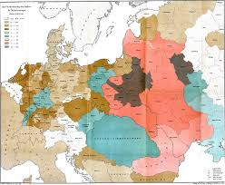 Map Of Germany With Cities And Towns In English by Jewish Ghettos In Europe Wikipedia