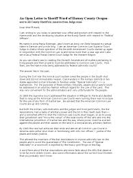 Gold Fringed Flag Meaning Hammond Ranch Update Open Letter To Sheriff David Ward U0026 All