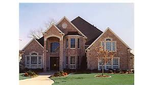 new american house plans grand brick home hwbdo57137 new american from builderhouseplans