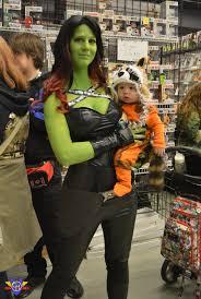 Raccoon Halloween Costumes Gamora Rocket Raccoon Cosplay Mcc 2014 Conmenwebseries