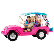 Barbie Toy Jeep Barbie